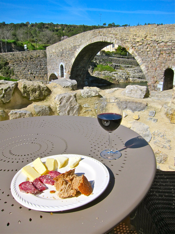 France, wine & cheese