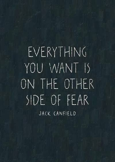 Fear, the other side