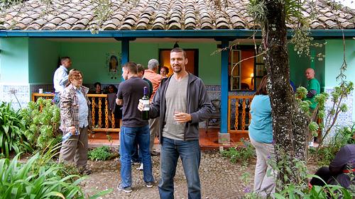 Chau - Pete's house party