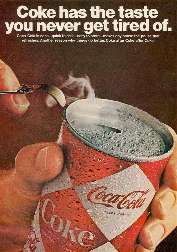 Coca-Cola magazine ads from 1960s (5)