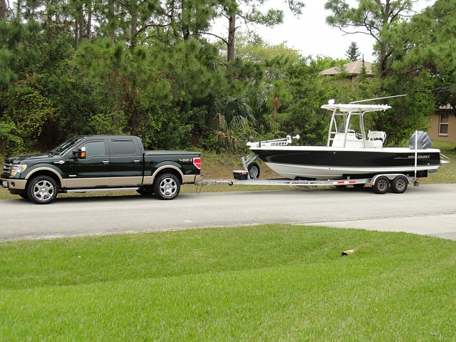 F150 and boat