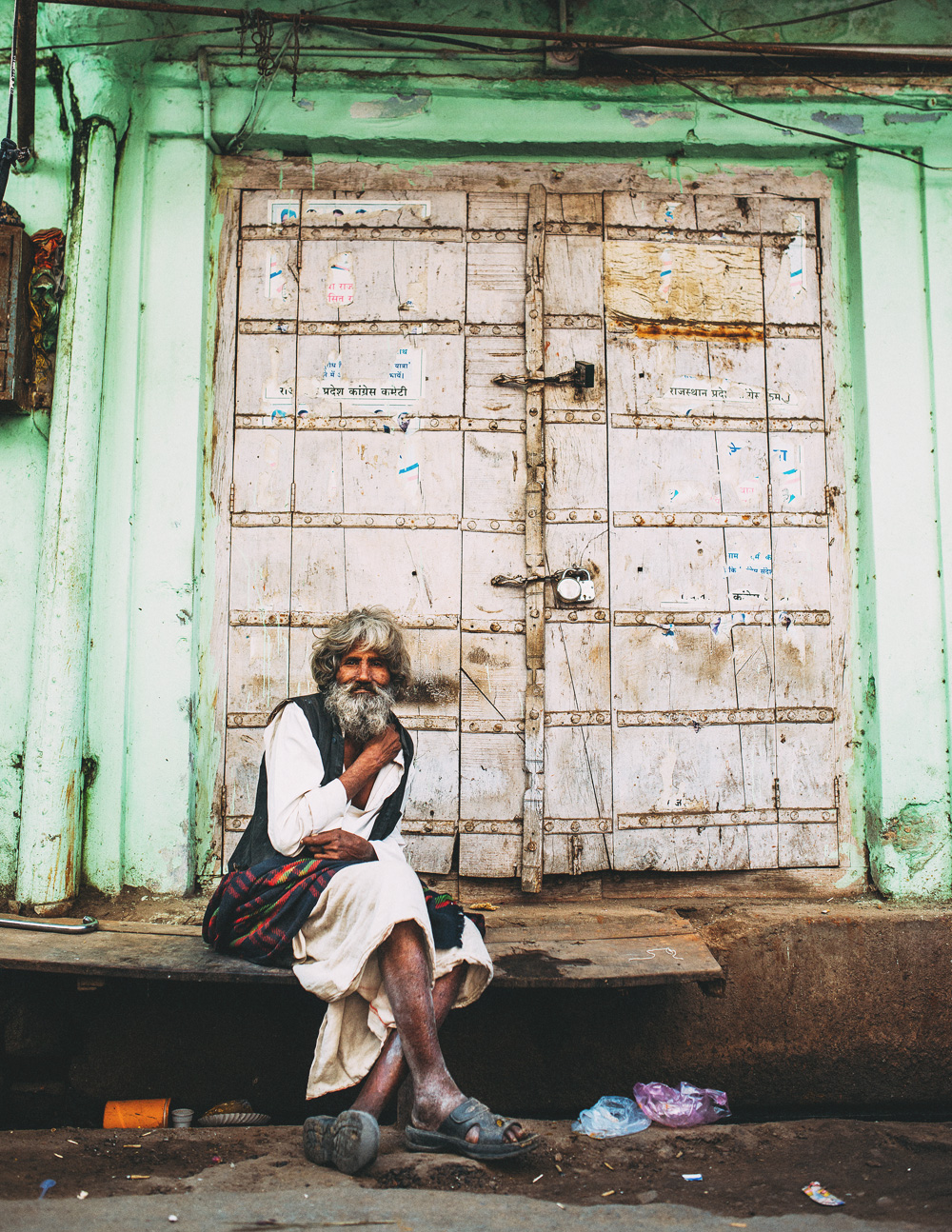 india old man