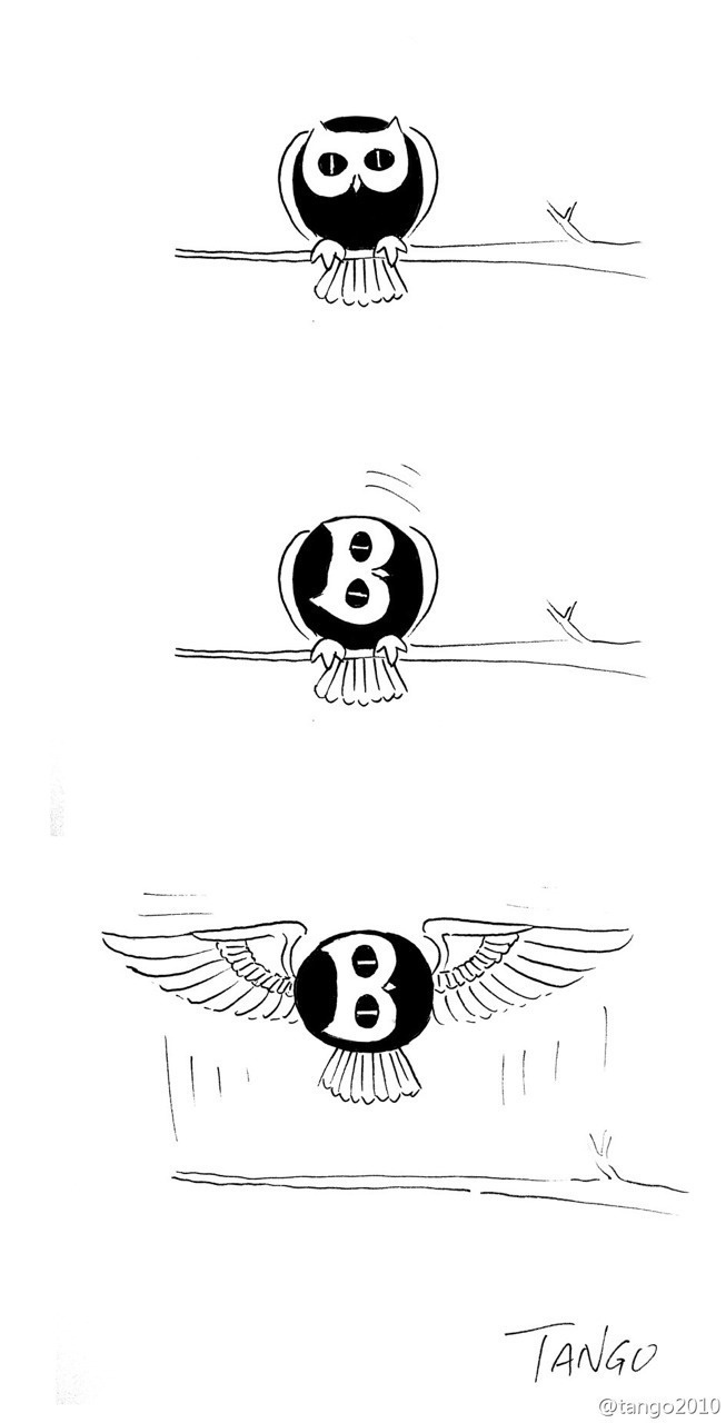 Bently cartoon