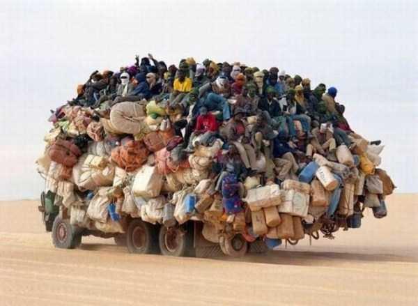 african truck overload