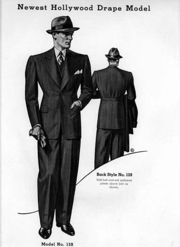 Suit Hollywood-drape-suit