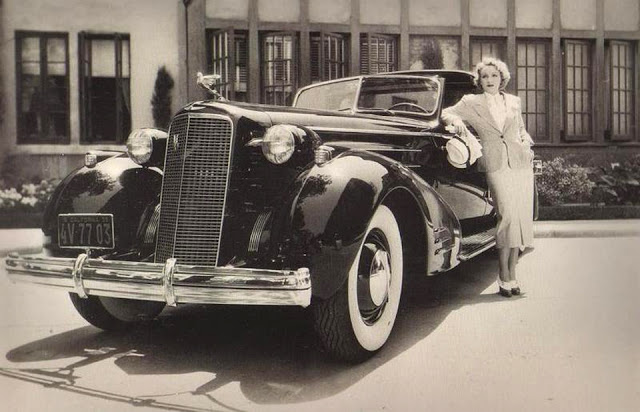 Vintage Celebrities Posing with Their Cadillacs (2)