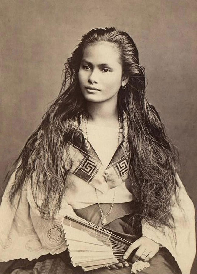 Woman beautiful native american
