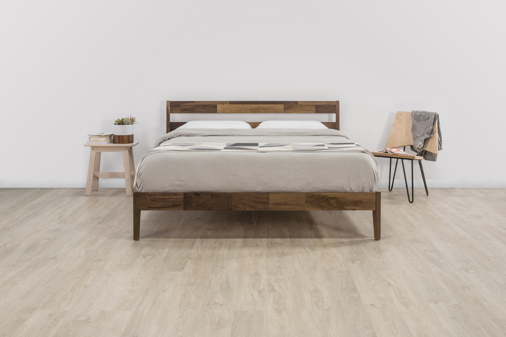 Tuft & Needle: Our Walnut Frame and Mint Mattress